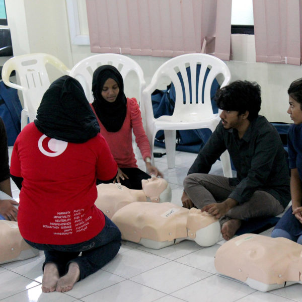 Maldivian Red Crescent | Community First Aid